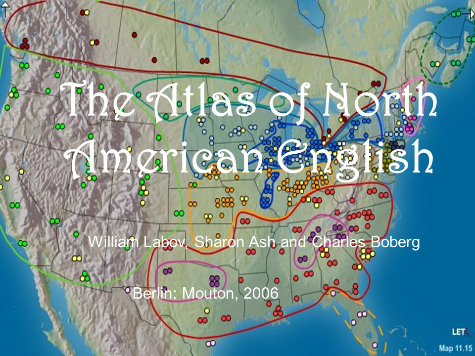 The Atlas of North American English