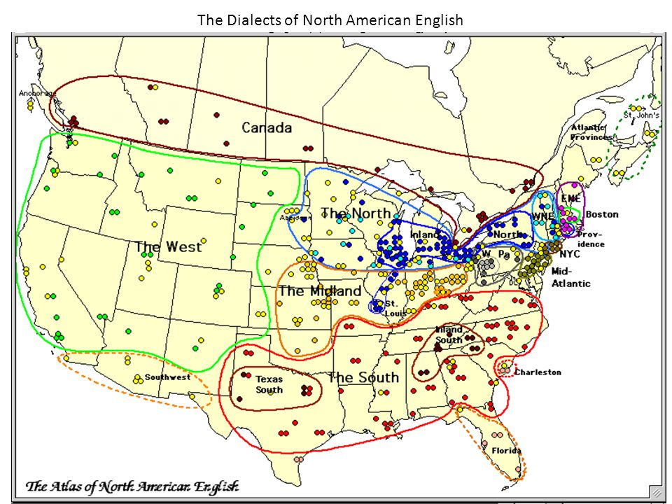 The Dialects of North American English