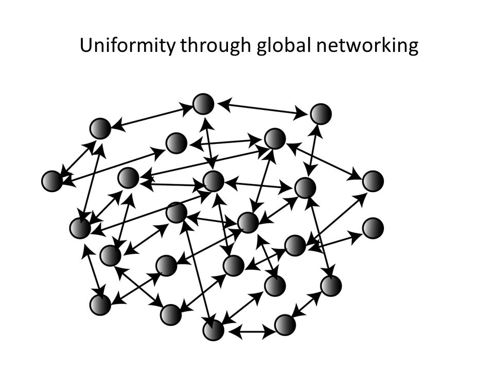 Uniformity through networking