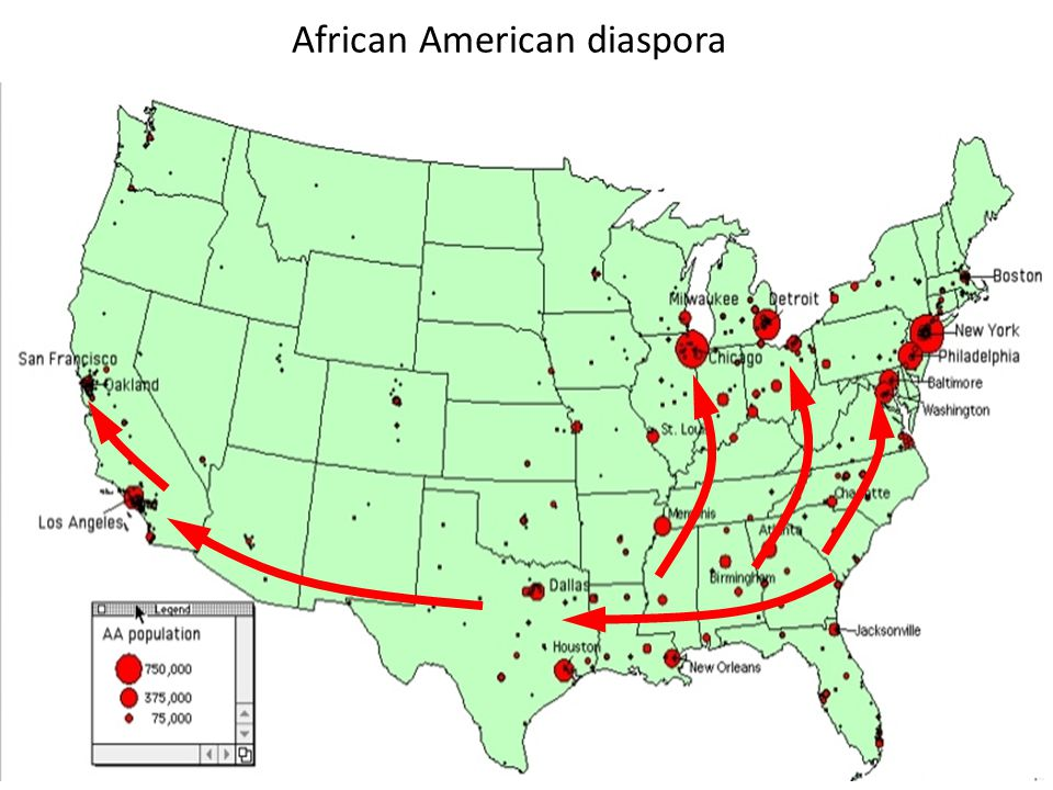 African American diaspora