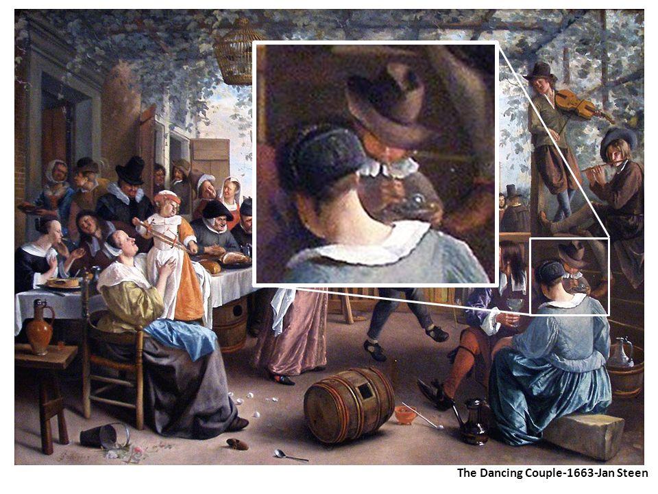 The Dancing Couple-1663-Jan Steen