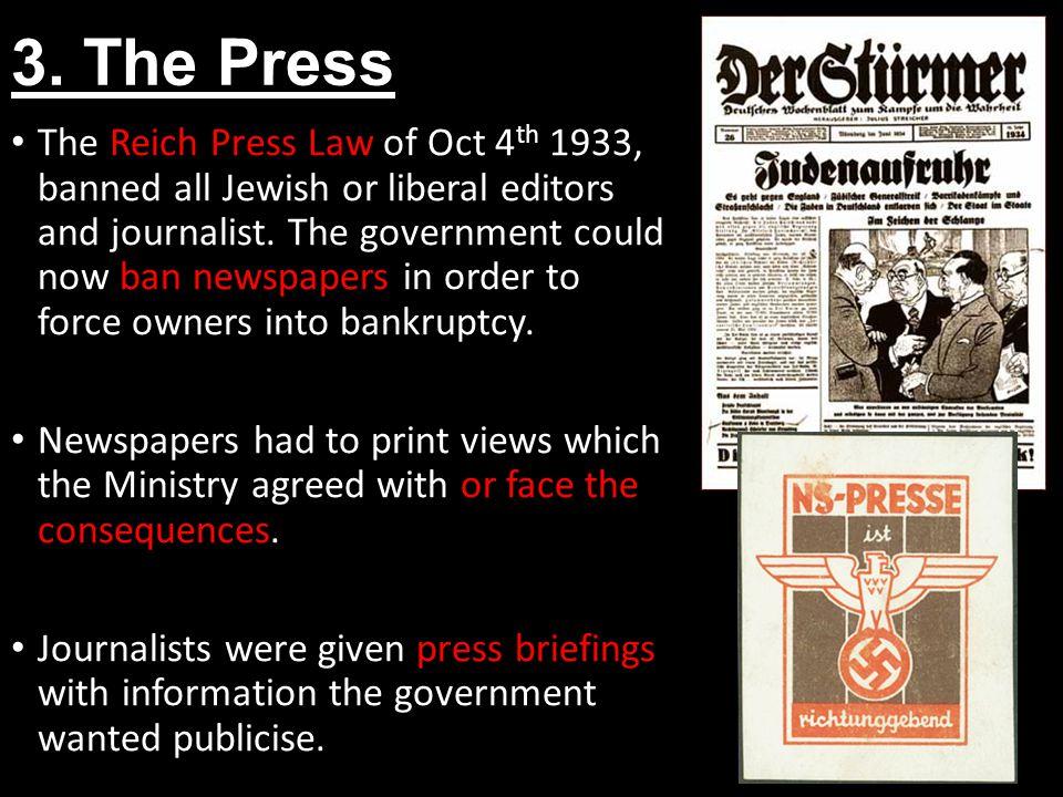 3. The Press