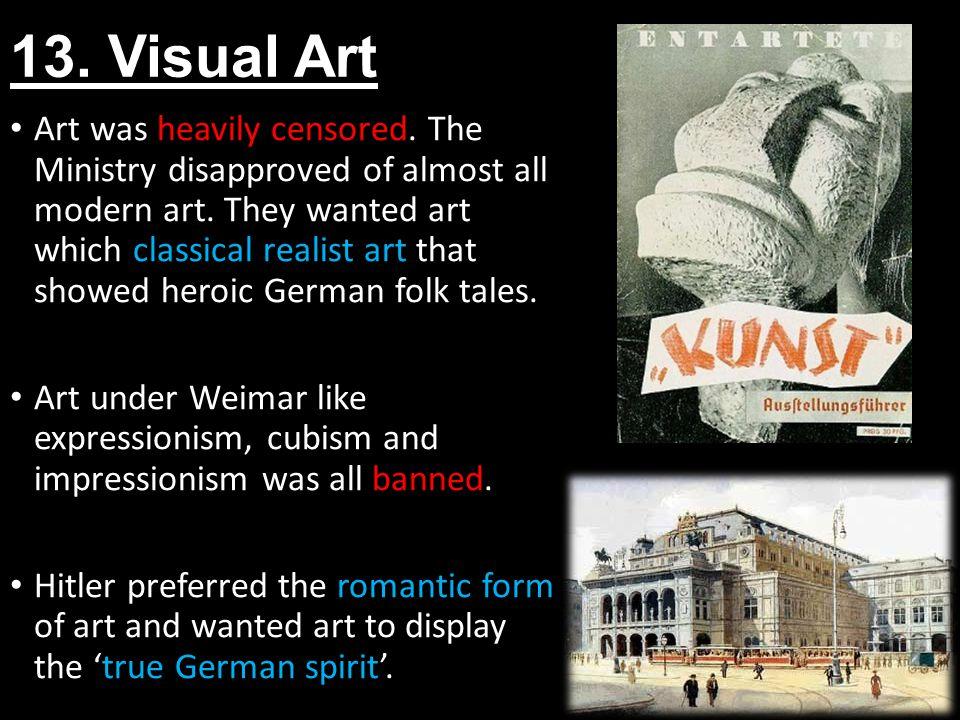 13. Visual Art