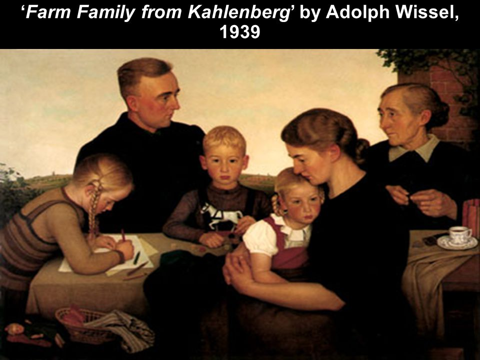 'Farm Family from Kahlenberg' by Adolph Wissel, 1939
