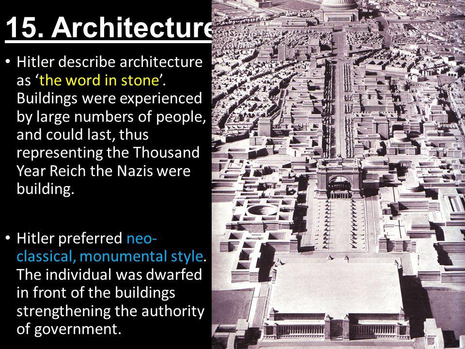 15. Architecture