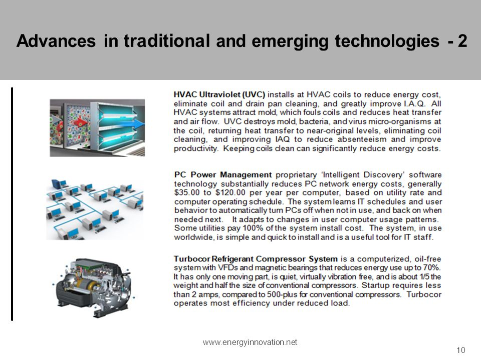 Advances in traditional and emerging technologies - 2
