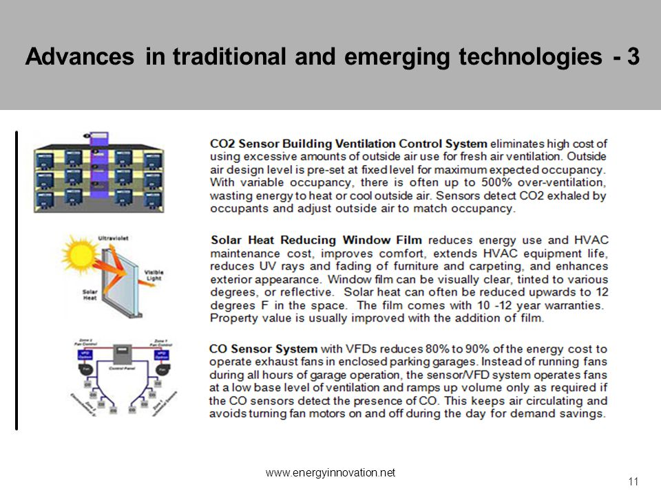 Advances in traditional and emerging technologies - 3