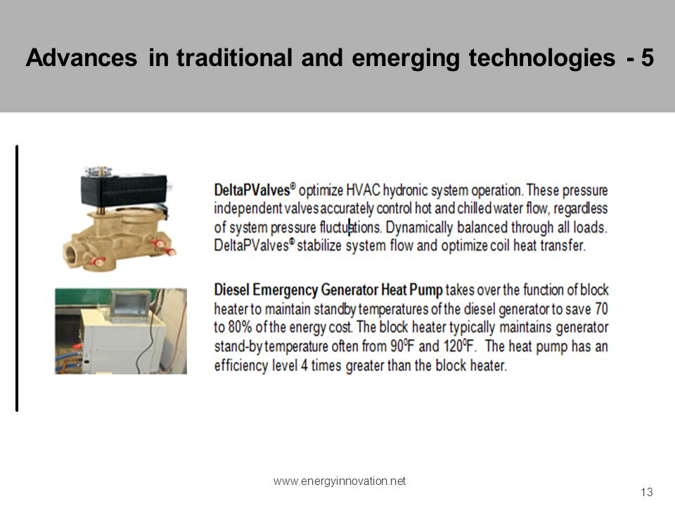 Advances in traditional and emerging technologies - 5