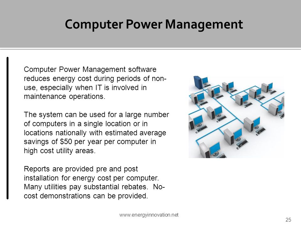 Computer Power Management