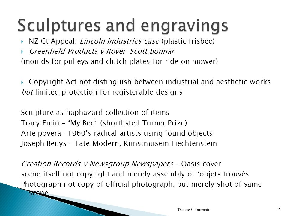 Sculptures and engravings