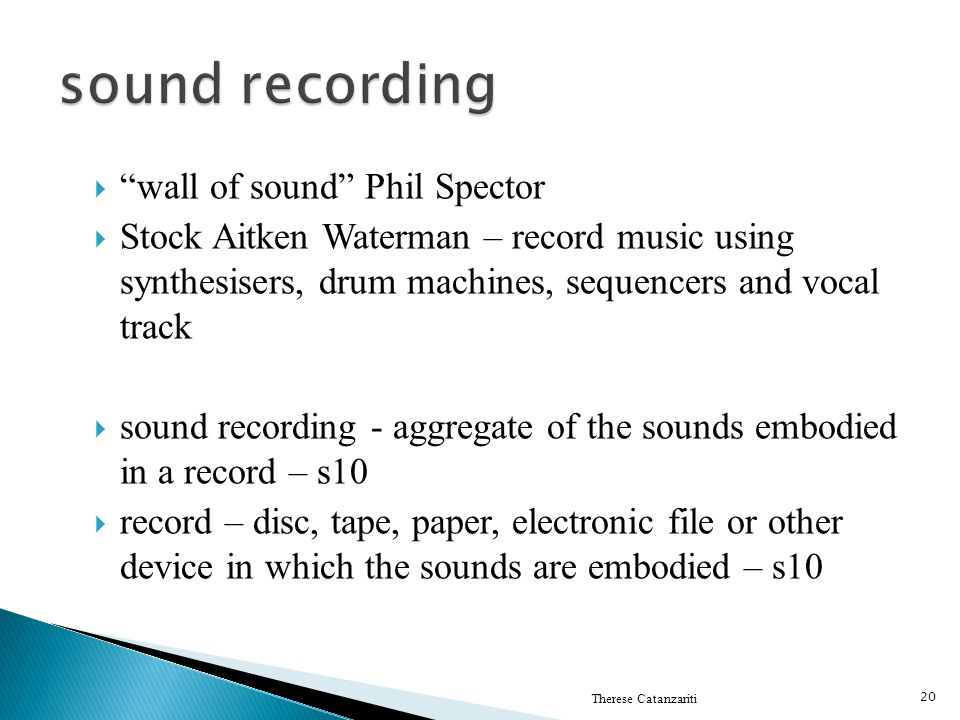 sound recording wall of sound Phil Spector