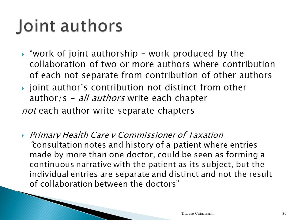 Joint authors