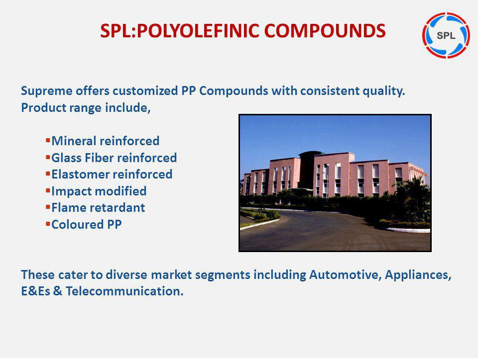 SPL:POLYOLEFINIC COMPOUNDS
