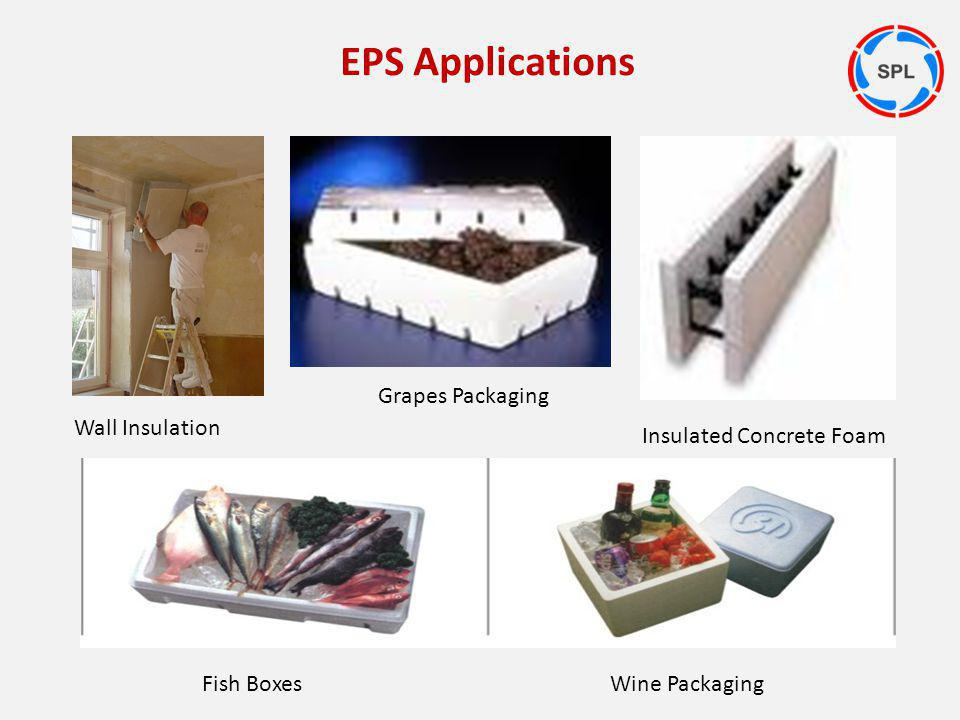 EPS Applications Grapes Packaging Wall Insulation