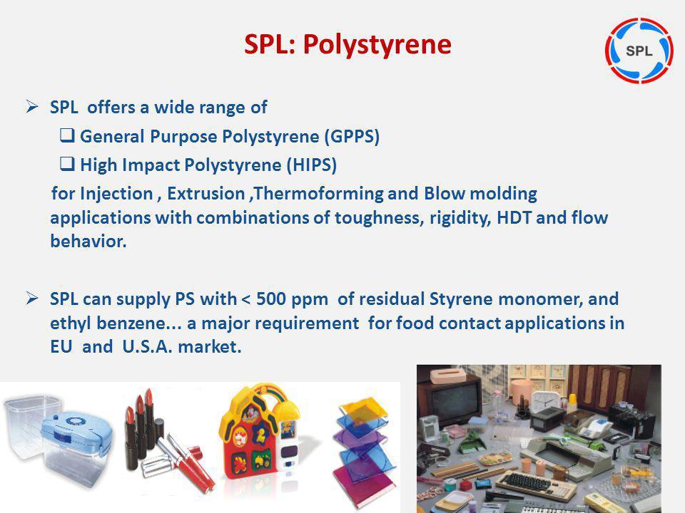 SPL: Polystyrene SPL offers a wide range of