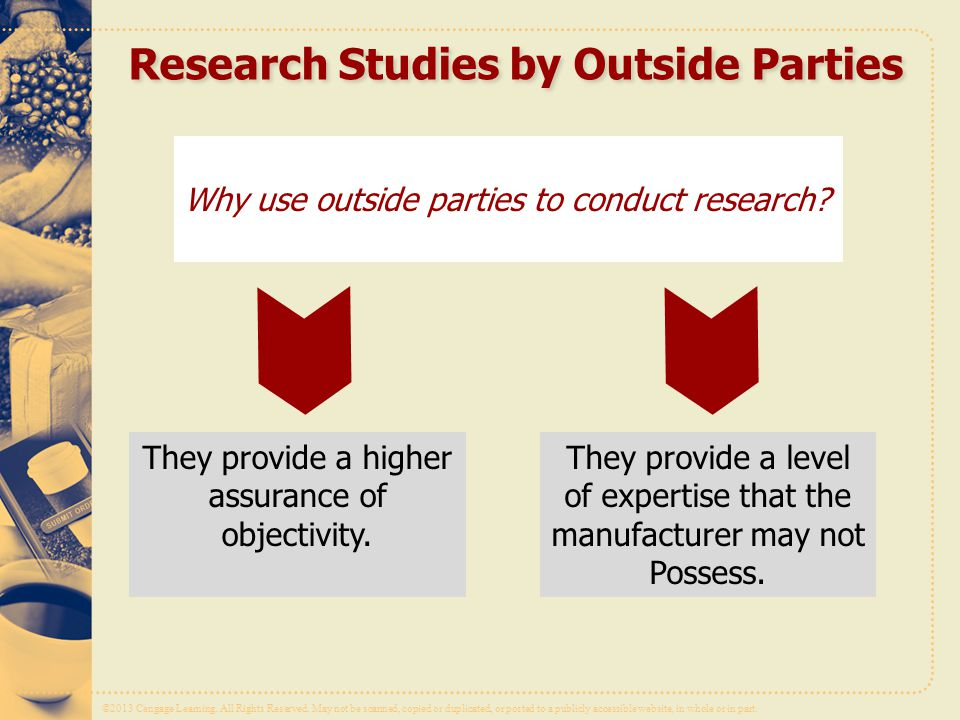 Research Studies by Outside Parties