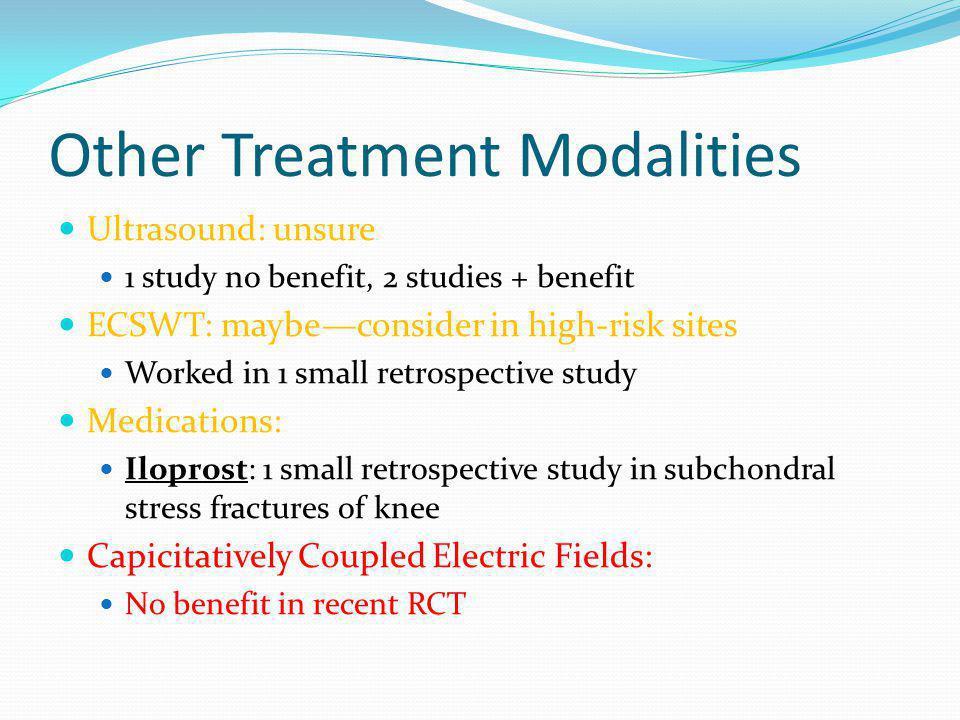 Other Treatment Modalities