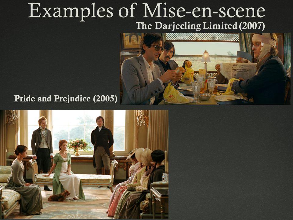 Examples of Mise-en-scene