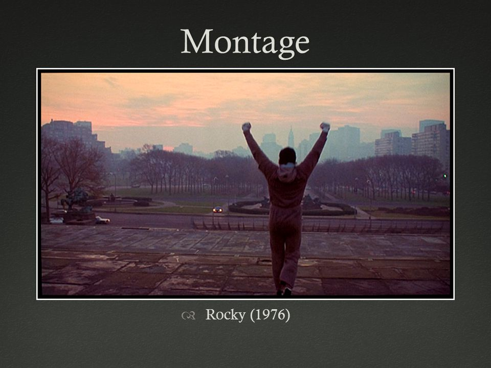 Montage Rocky (1976)