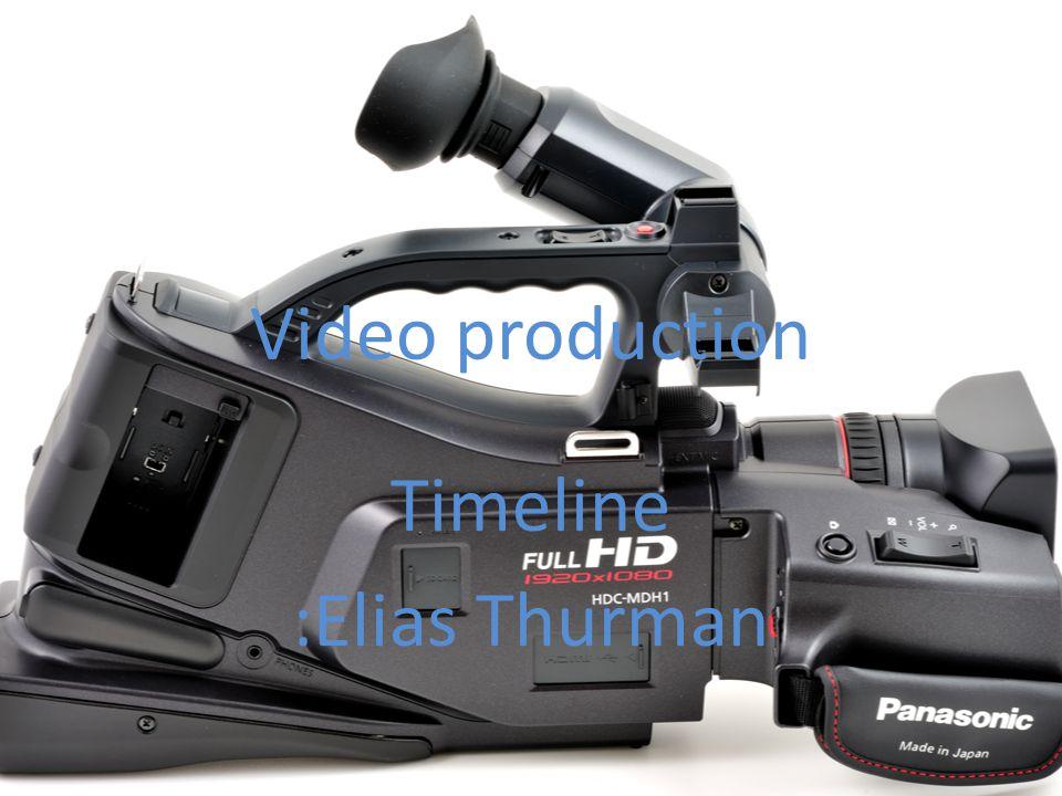 Timeline :Elias Thurman