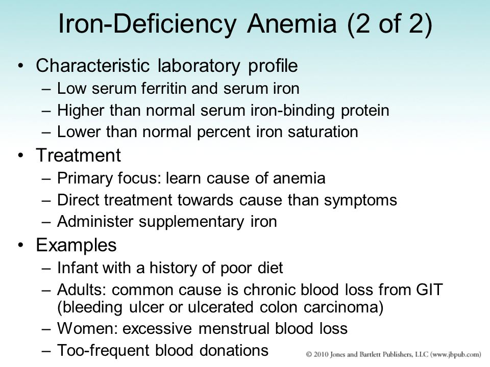 Iron-Deficiency Anemia (2 of 2)