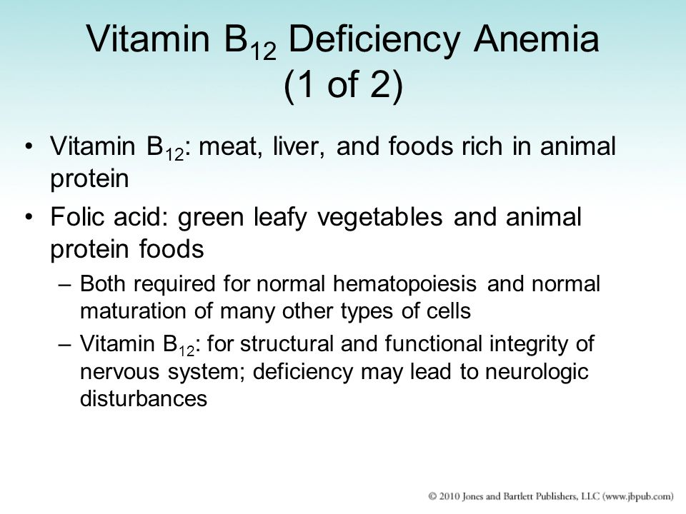 Vitamin B12 Deficiency Anemia (1 of 2)