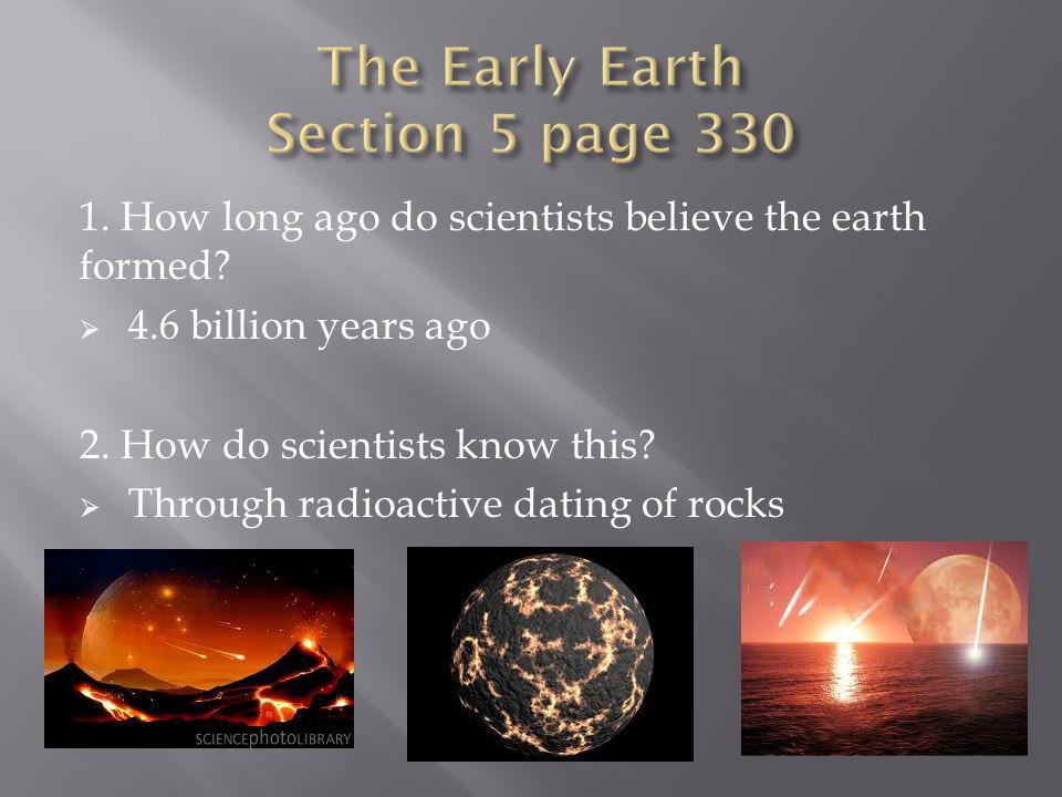 The Early Earth Section 5 page 330