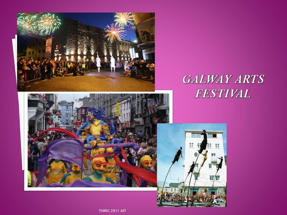 Galway Arts Festival THRIC 2011 AIT