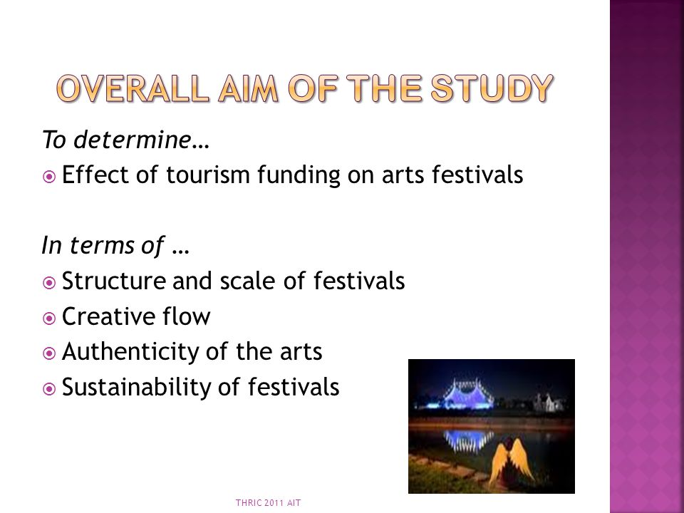 Overall aim of the Study