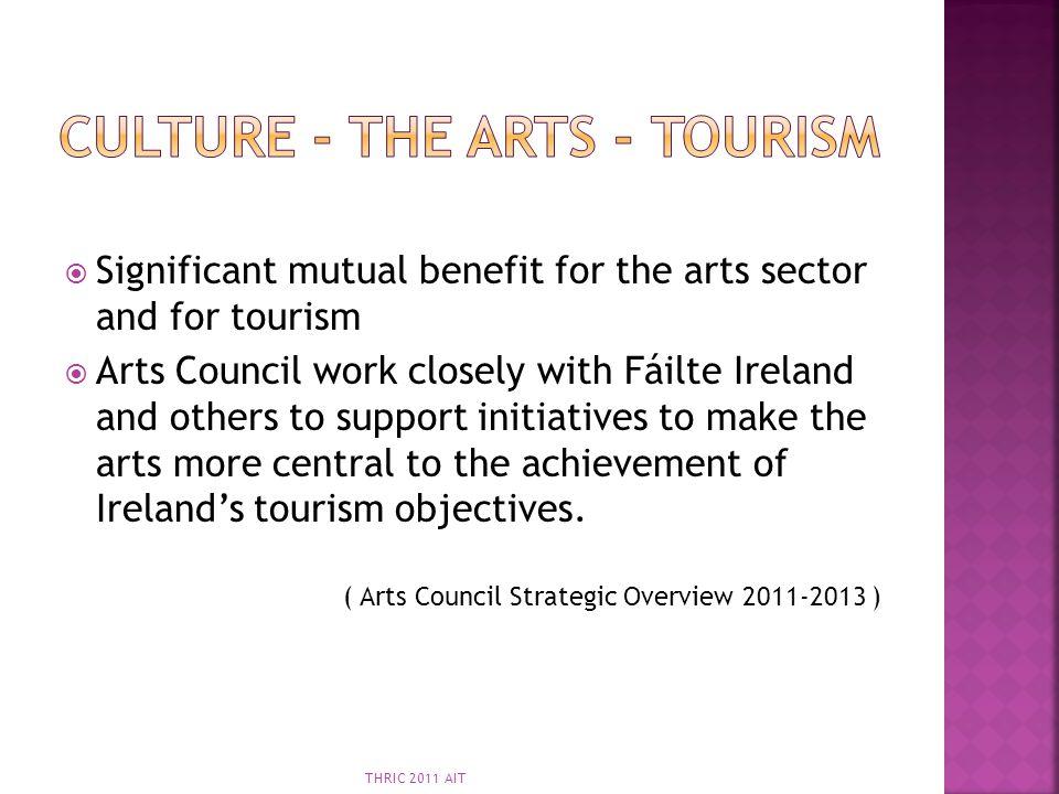Culture - The arts - tourism