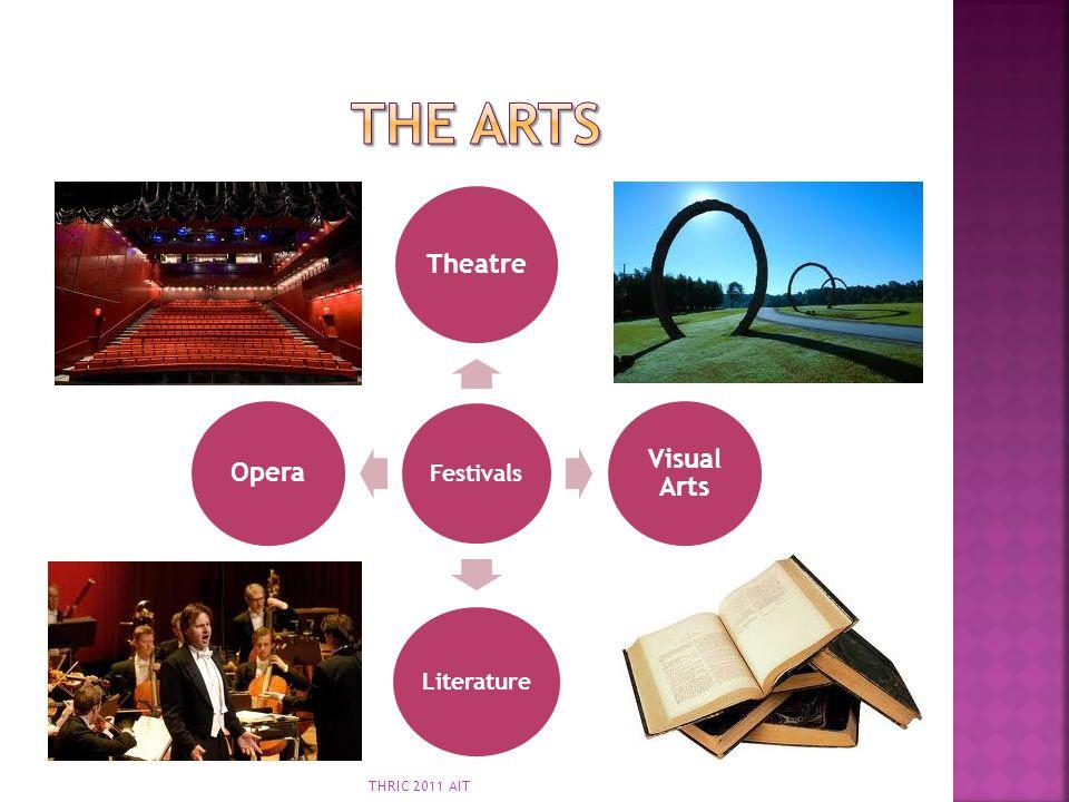 The Arts Festivals Theatre Visual Arts Literature Opera THRIC 2011 AIT