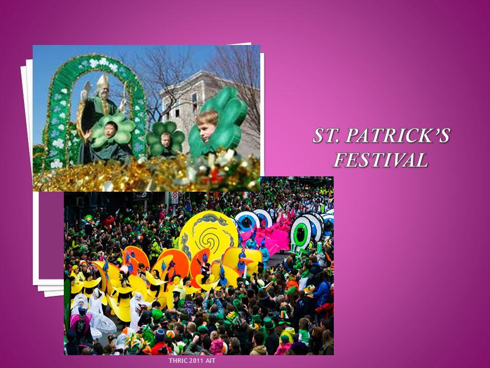 St. Patrick's Festival THRIC 2011 AIT