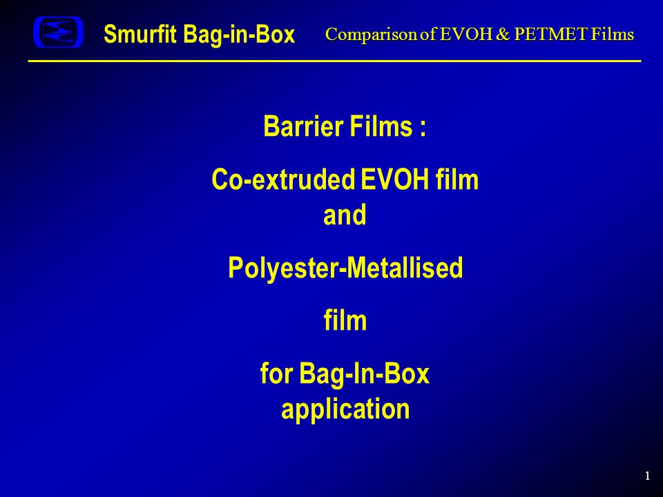 Comparison of EVOH & PETMET Films