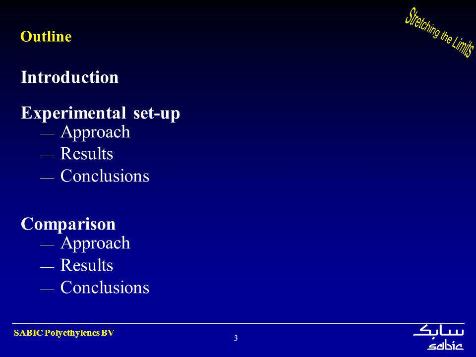 Introduction Experimental set-up Approach Results Conclusions