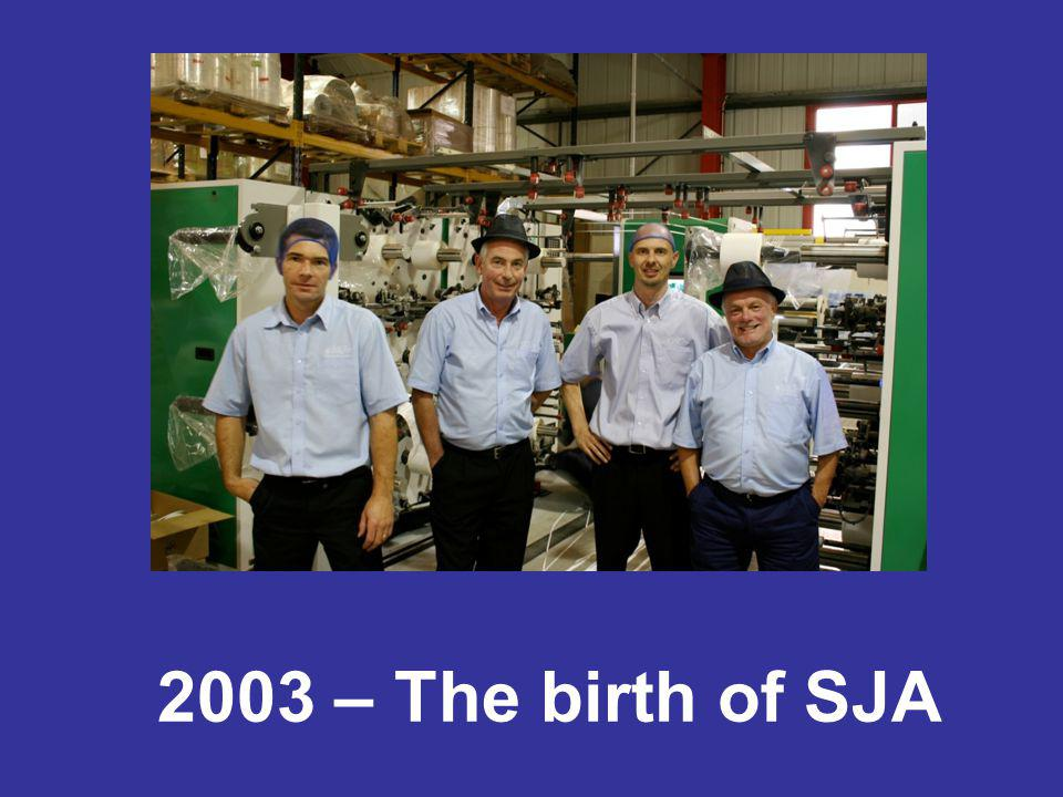 The company was formed in 2003 when 4 colleagues decided that they wanted to go it alone and form their own company