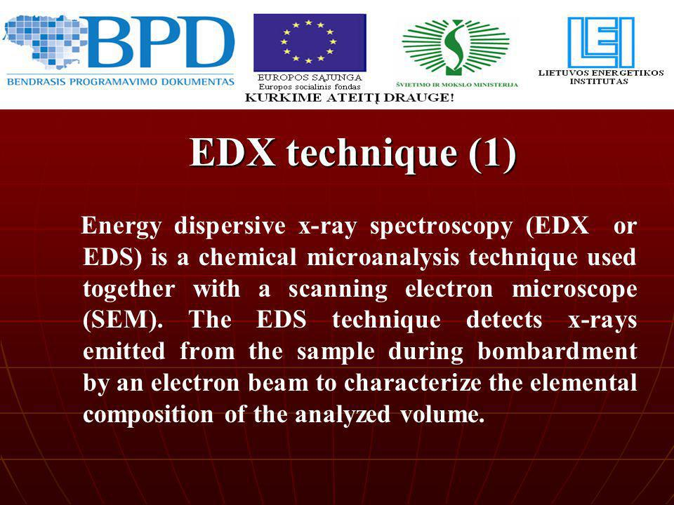 EDX technique (1)