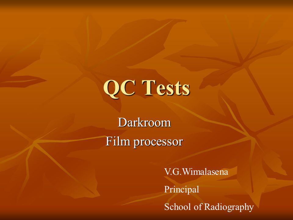 Darkroom Film processor