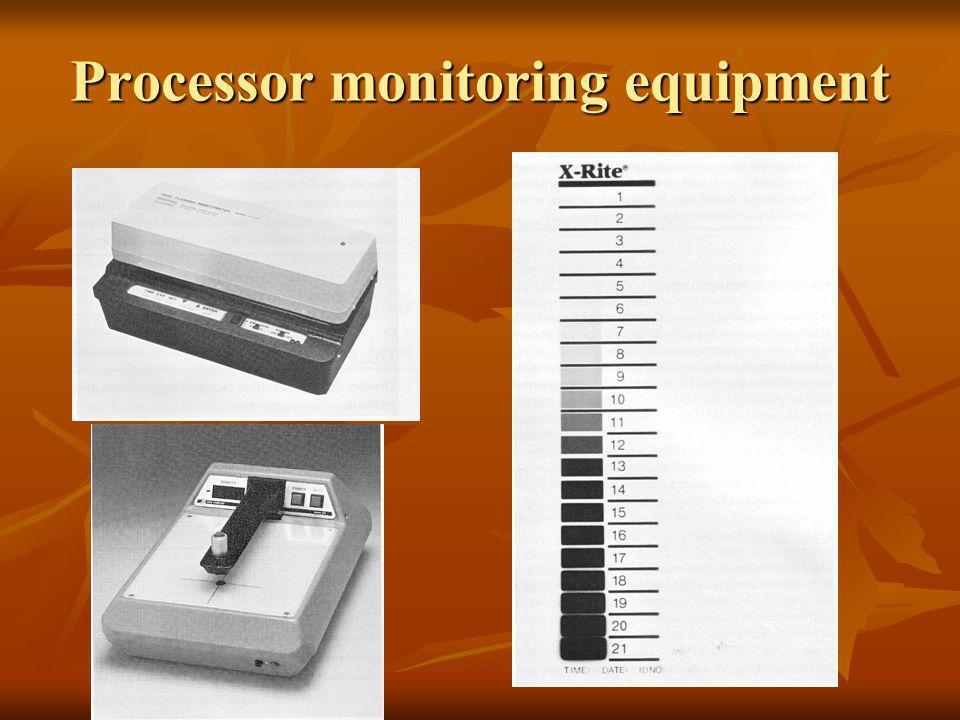 Processor monitoring equipment