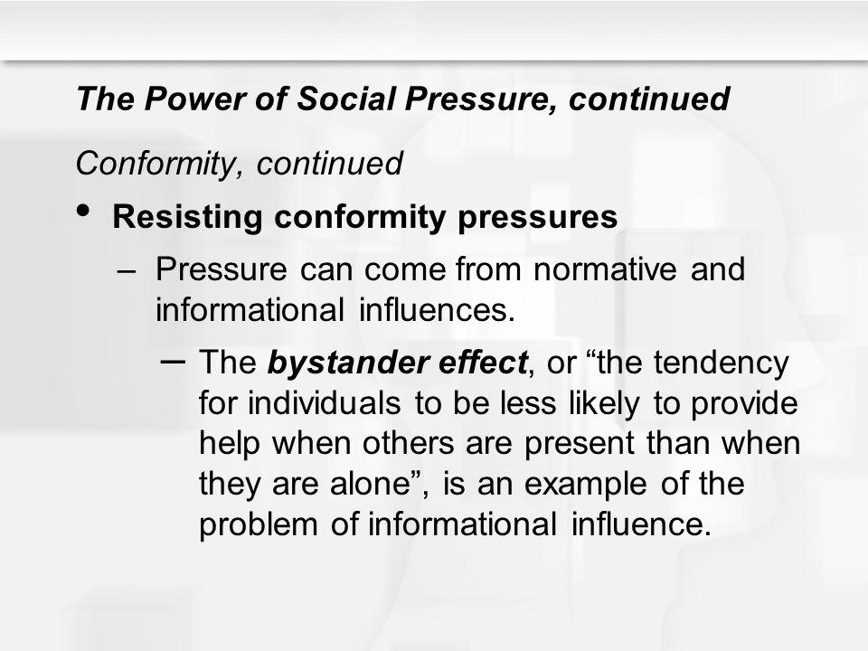 The Power of Social Pressure, continued