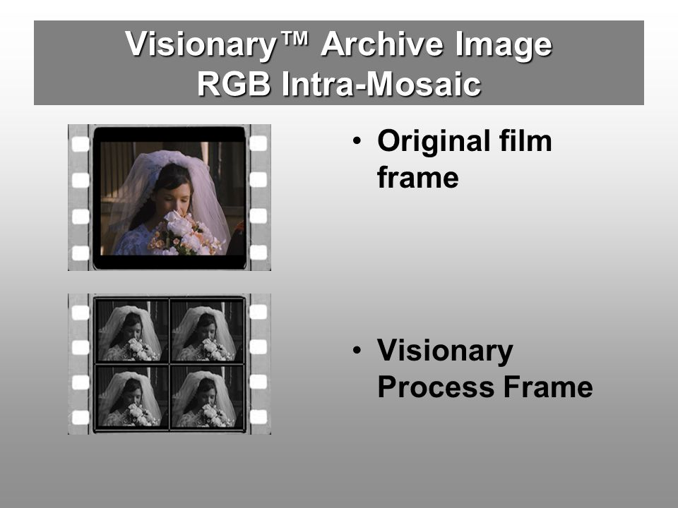 Visionary™ Archive Image RGB Intra-Mosaic