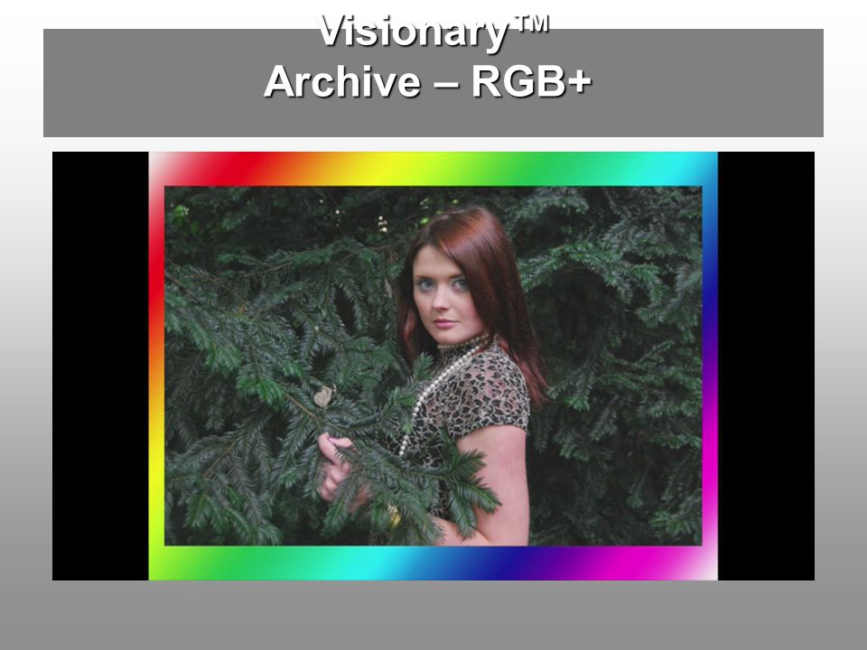 Visionary™ Archive – RGB+