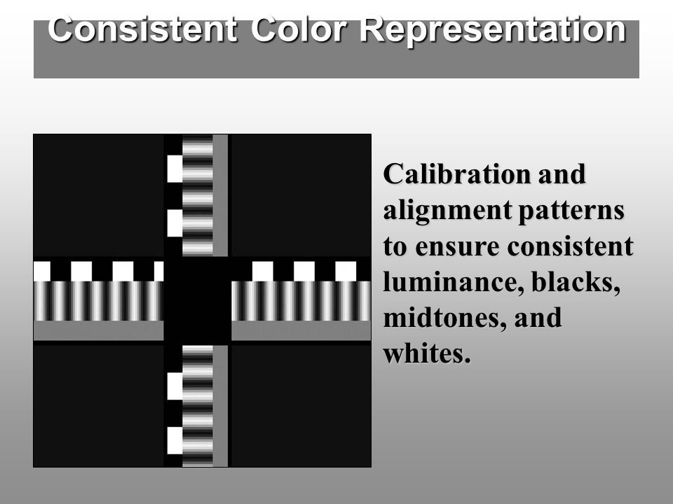 Consistent Color Representation