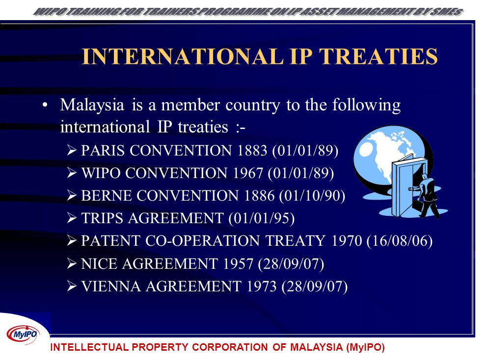 INTERNATIONAL IP TREATIES