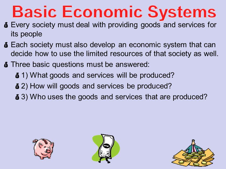 Basic Economic Systems