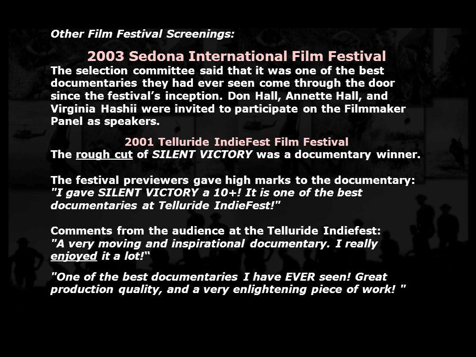 2003 Sedona International Film Festival