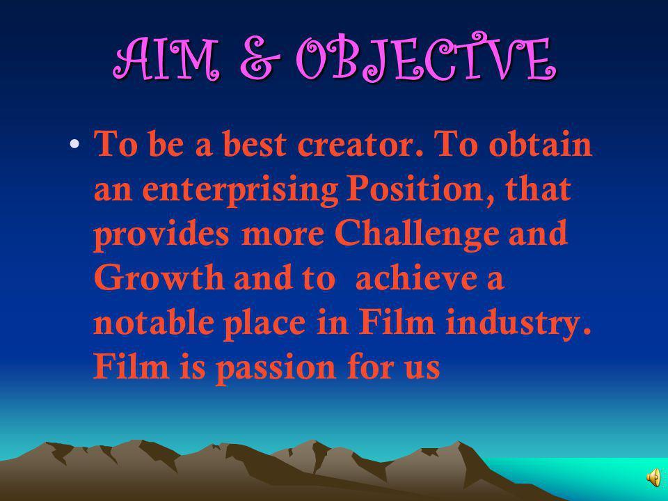 AIM & 0BJECTVE