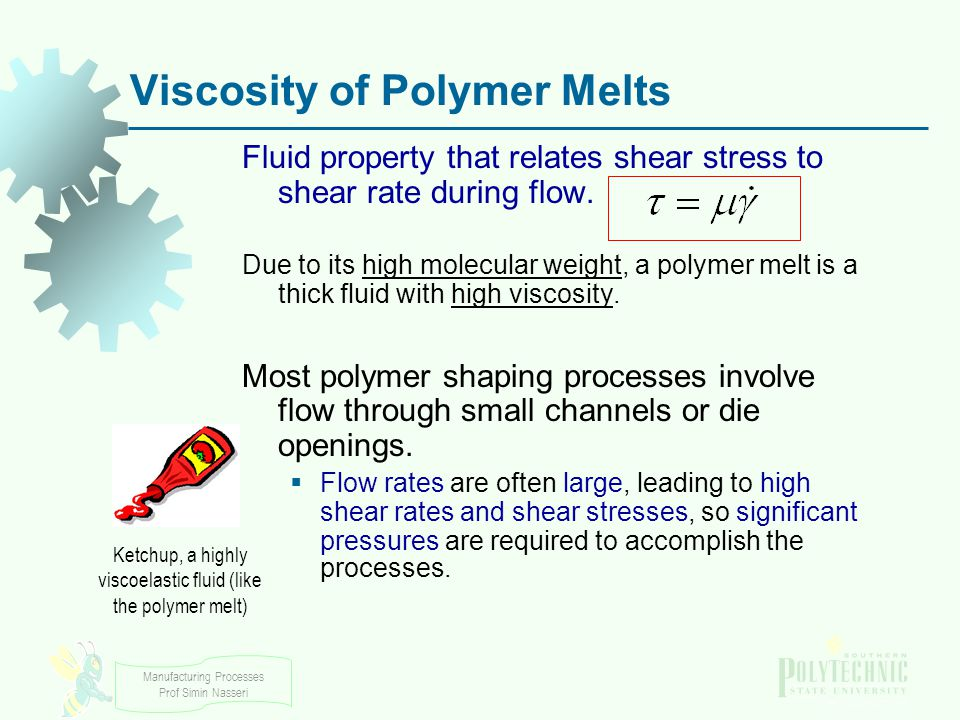 Viscosity of Polymer Melts