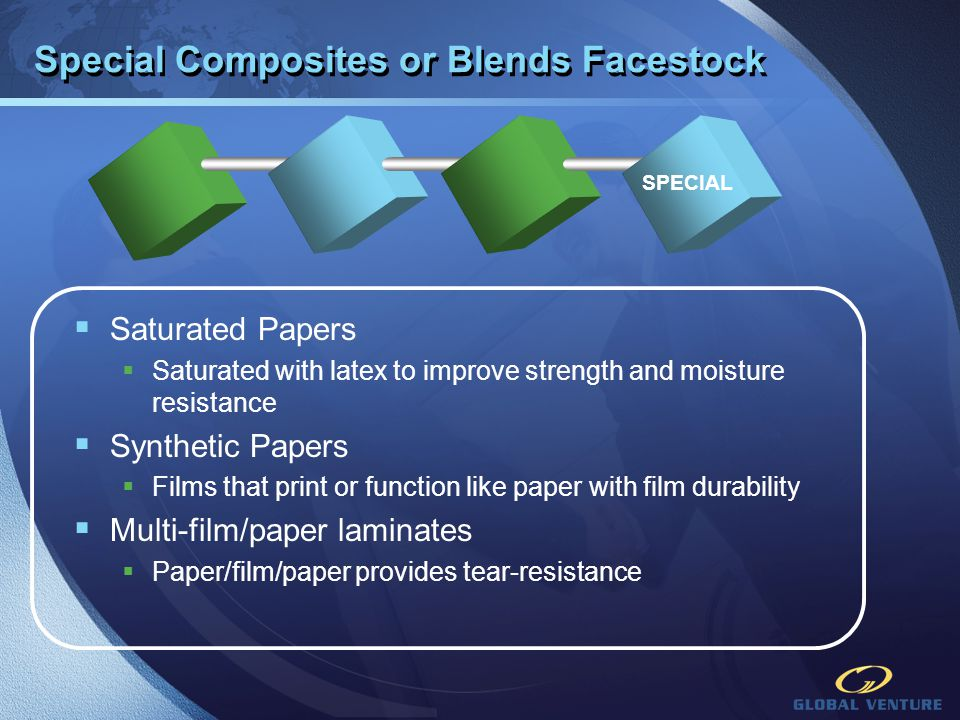 Special Composites or Blends Facestock