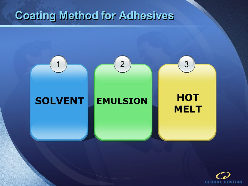 Coating Method for Adhesives