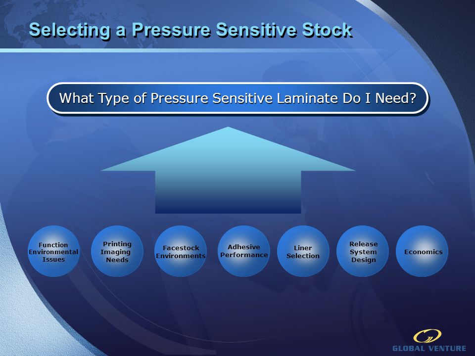 Selecting a Pressure Sensitive Stock